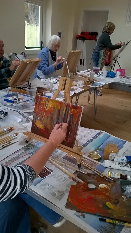 Painting, art classes