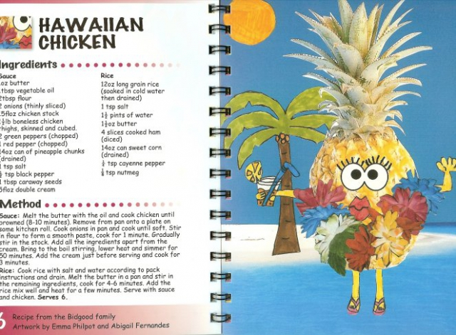 George Palmer Primary School cookbook recipe